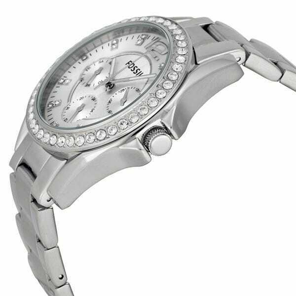 Fossil Women's Riley Stainless Steel Multi-function Quartz Watch ES3202