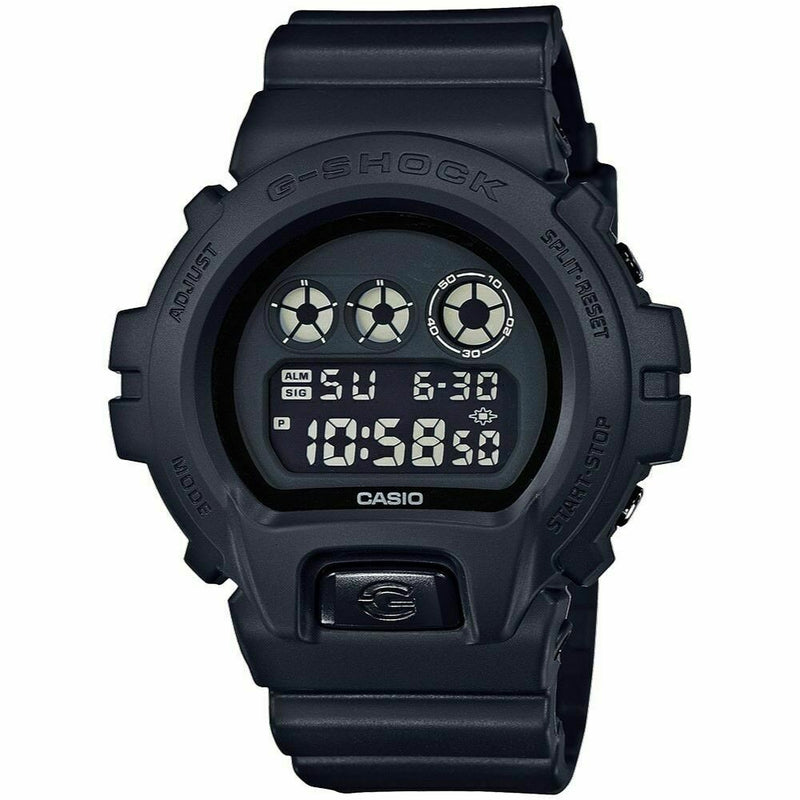 CASIO G-SHOCK Watch Military Black WATCH DW6900BB-1 All Black DW6900