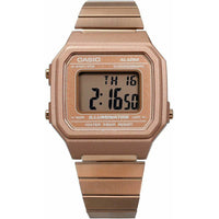 Casio Vintage G-Series B650WC-5A Stainless Steel Casual Watch Rose Gold