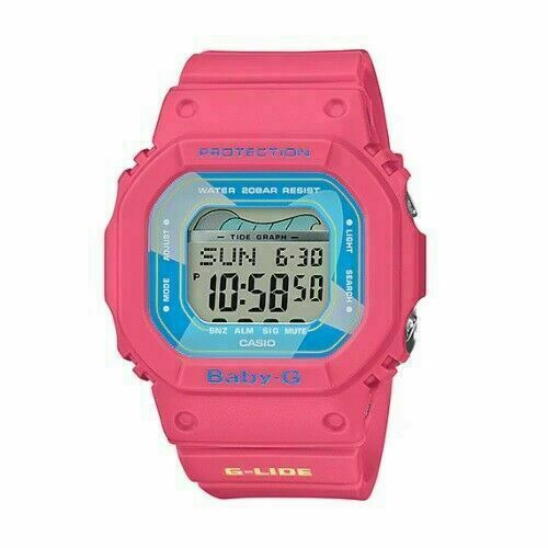 Casio Baby-G BLX-560VH-4D G-Lide Retro 90's Surf Fashion Digital Ladies' Watch