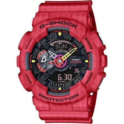 Casio G-Shock Analog-Digital Black Dial Men's Watch GA110SGH-4A