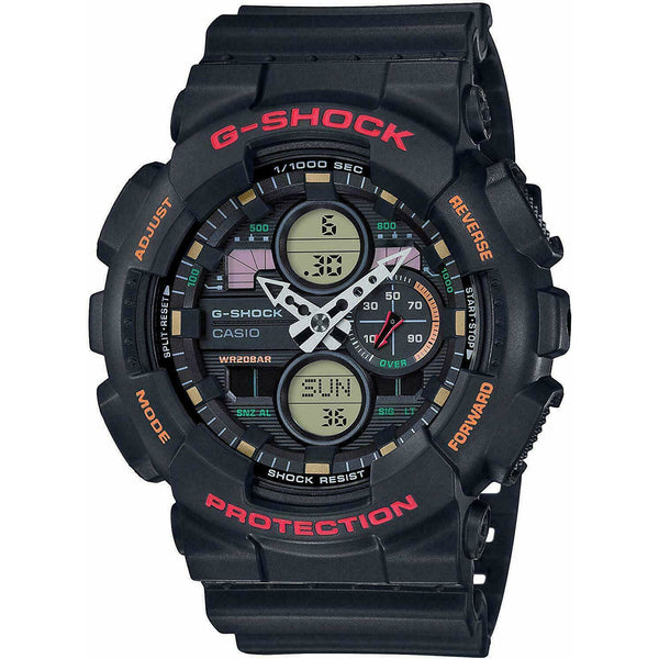 Casio GA-140-1A4 G-Shock Black Dial Resin Men's Watch