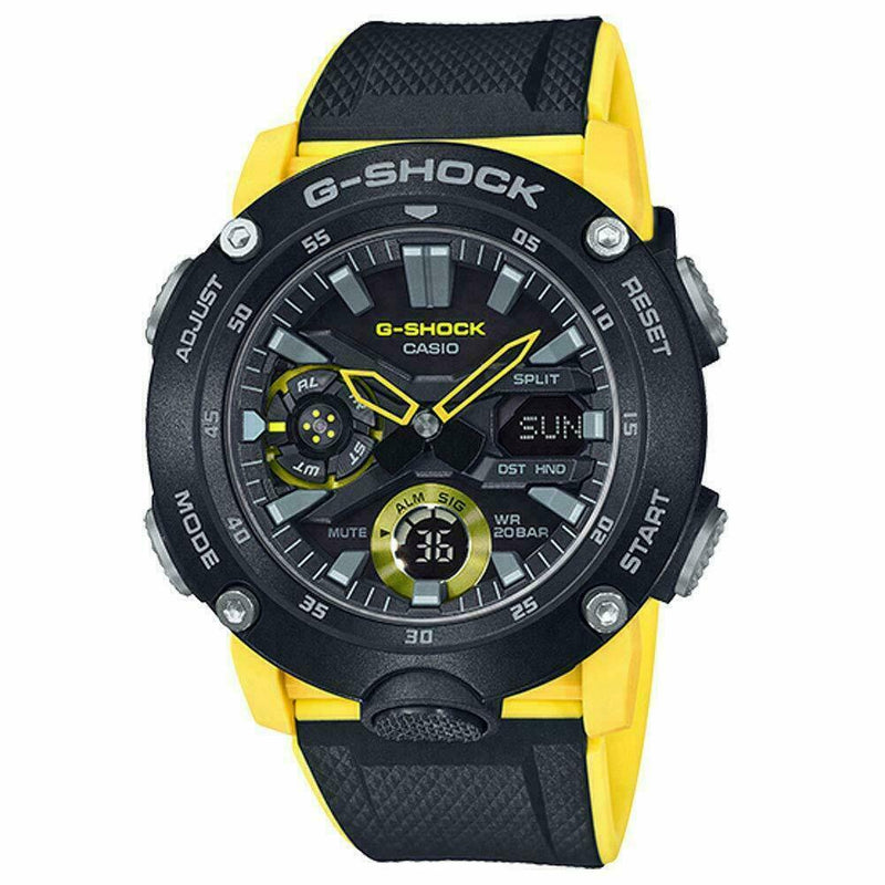 Casio G-Shock Carbon Core Guard Analog Digital Watch GA2000-1A9