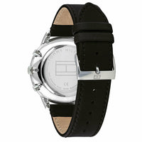 Tommy Hilfiger Men's Analogue Quartz Watch with Leather-Calfskin Strap 1710406