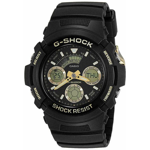 Casio AW591GBX-1A9 G-Shock 46MM Men's Black Silicone Watch