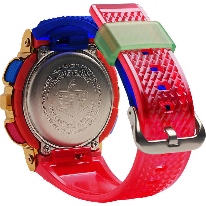 Casio G-Shock GM110RB-2A Analog-Digital Metal-Resin Rainbow Watch