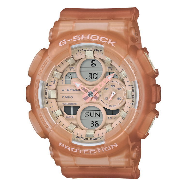 Casio G-Shock GMAS140NC-5A1 Analog-Digital Nude Collection Resin Watch