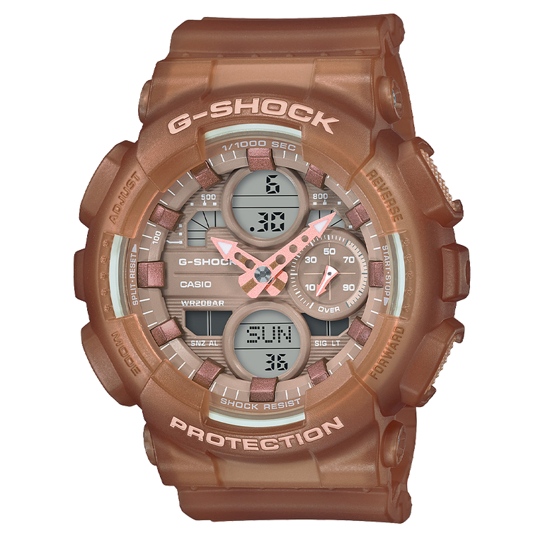 Casio G-Shock GMAS140NC-5A2 Analog-Digital Nude Collection Resin Watch