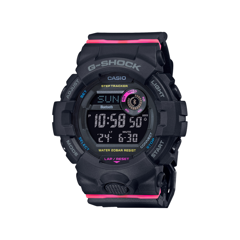 G-Shock G-Squad for Ladies Lineup Black Resin Band GMDB800SC-1D