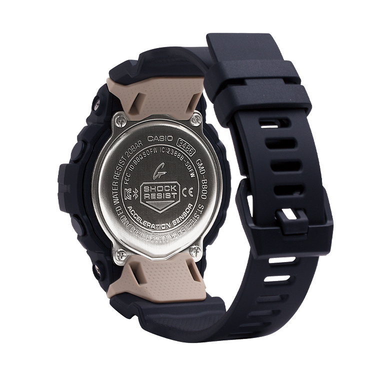 Authentic Casio G-Shock Bluetooth Shock Resistant Women's Watch GMDB800-1