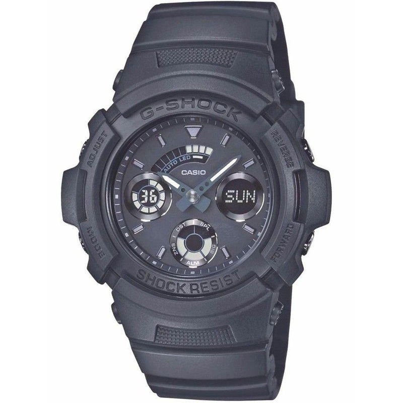 Casio AW591BB-1A G-Shock Special Color Model Basic Black Watch G-Shock Watchgalactic