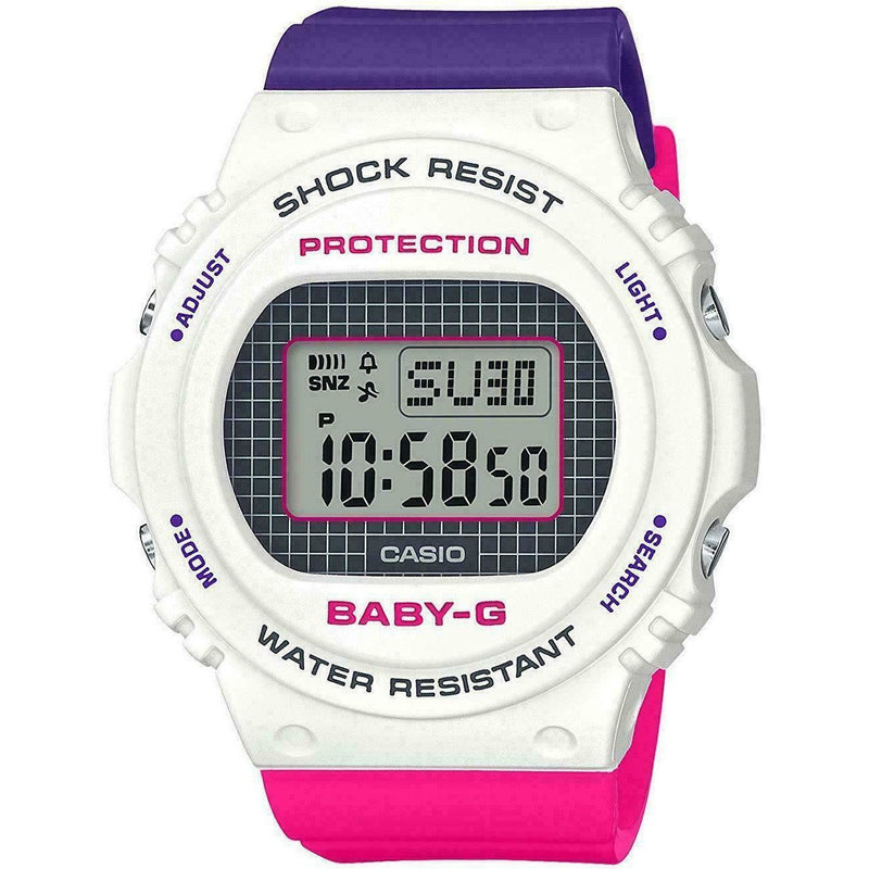 CASIO BABY-G BGD-570THB-7D Throwback 1990s Women's Watch 2019 New in Box Baby G-Shock Watchgalactic