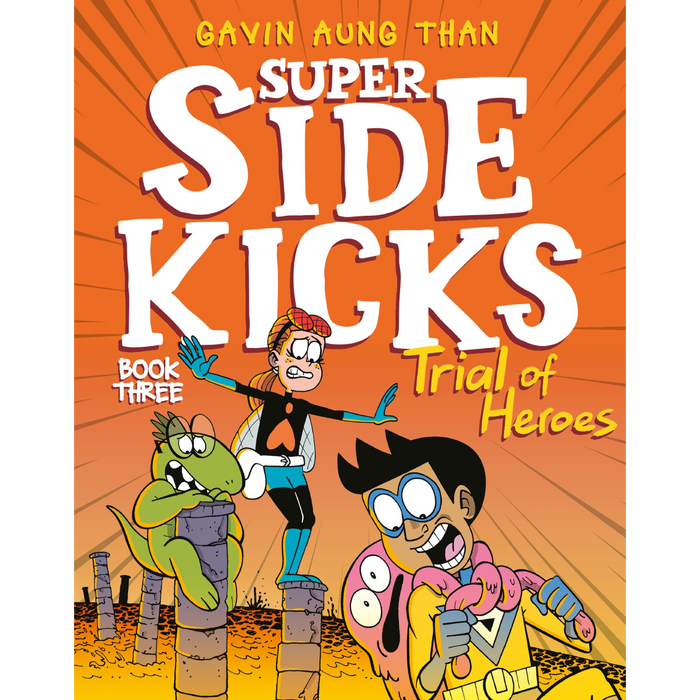 Super Sidekicks 3: Trial of Heroes