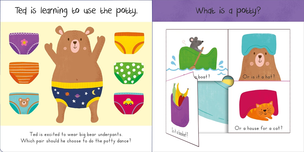 Let's Poop!: A Turn-The-Wheel Book for Potty Training