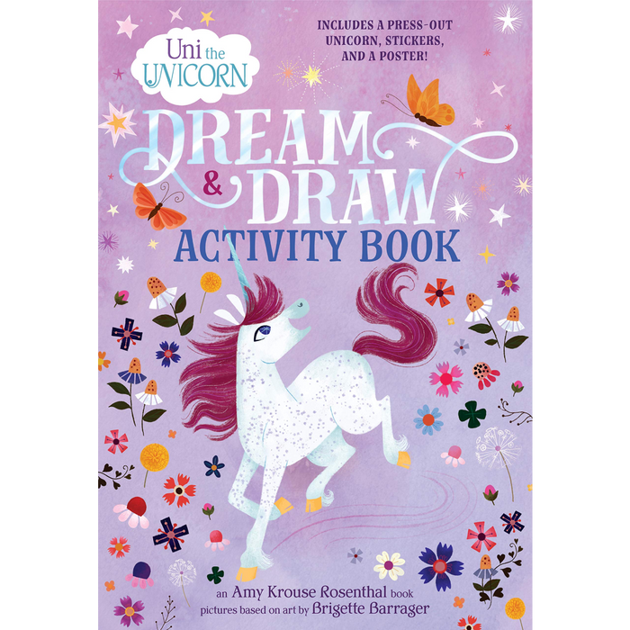 Uni the Unicorn: Dream & Draw Activity Book