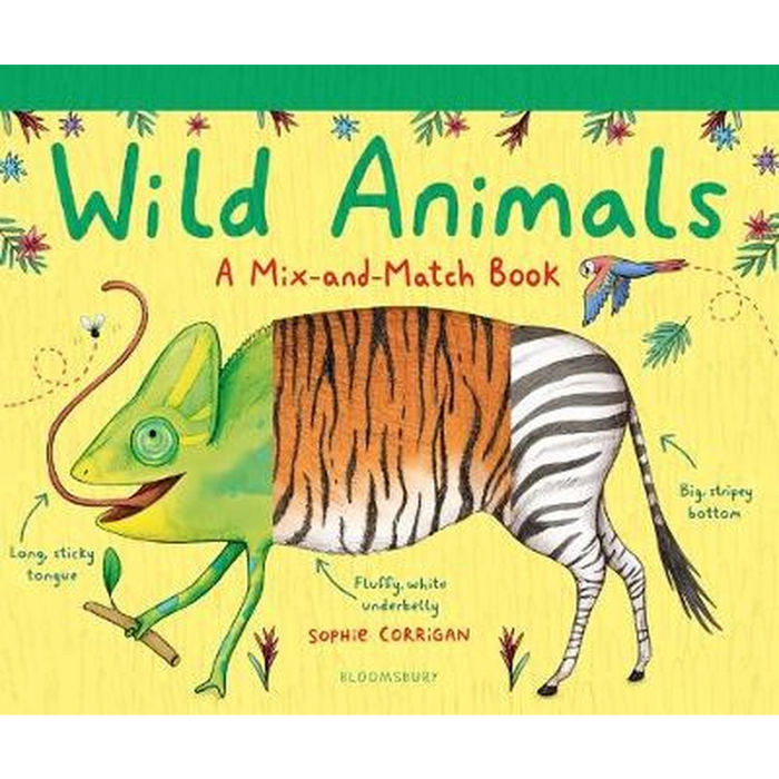 Wild Animals: A Mix-and-Match Book
