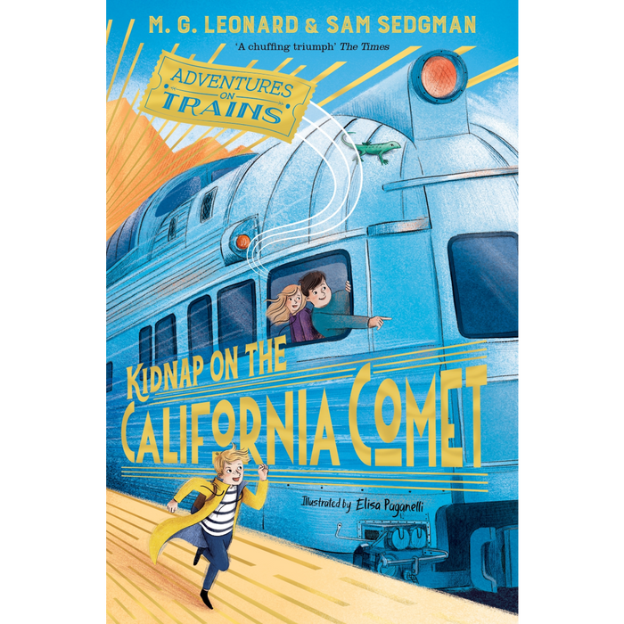 Adventures on Trains: Kidnap on the California Comet