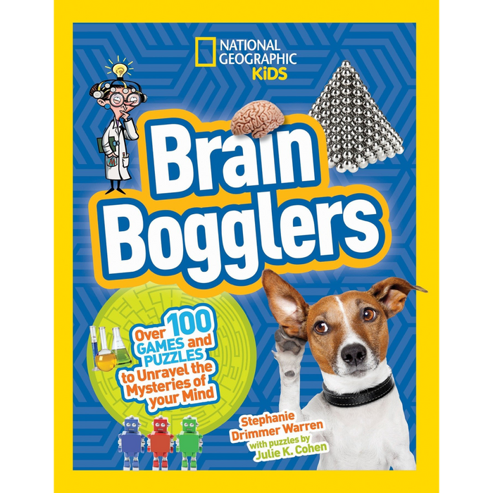 Brain Bogglers: Over 100 games and puzzles to unravel the mysteries of your mind