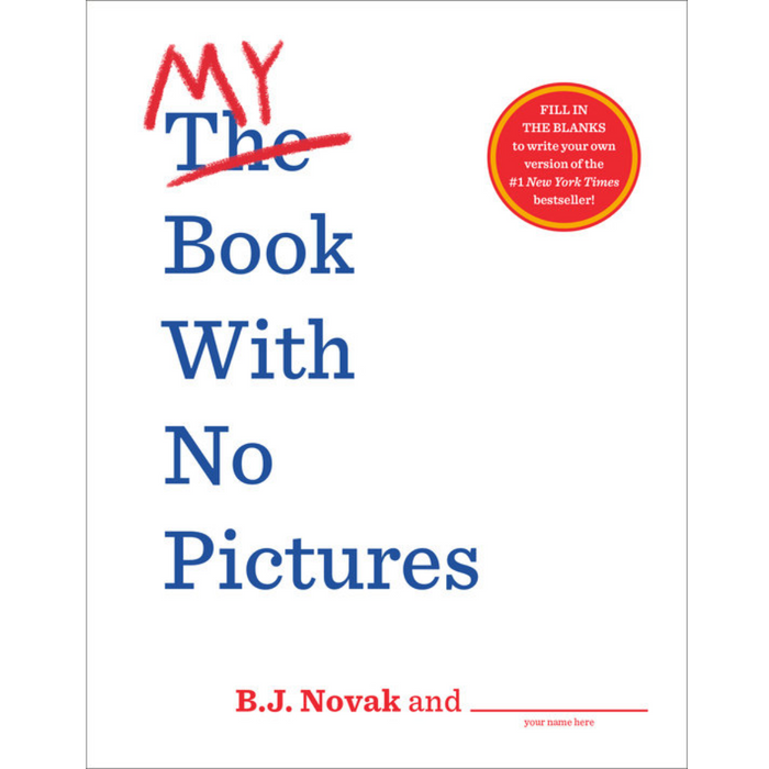 My Book With No Pictures (activity book)