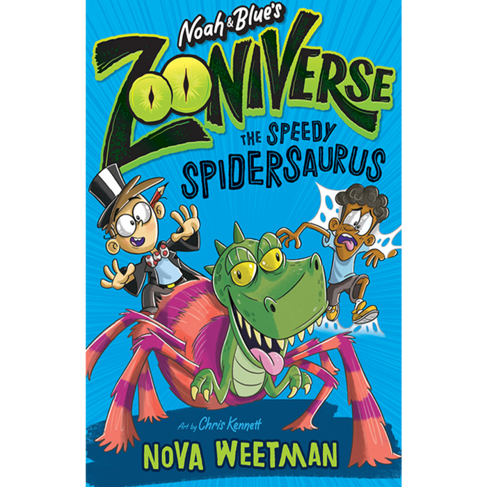 Noah and Blue's Zooniverse: : The Speedy Spidersaurus