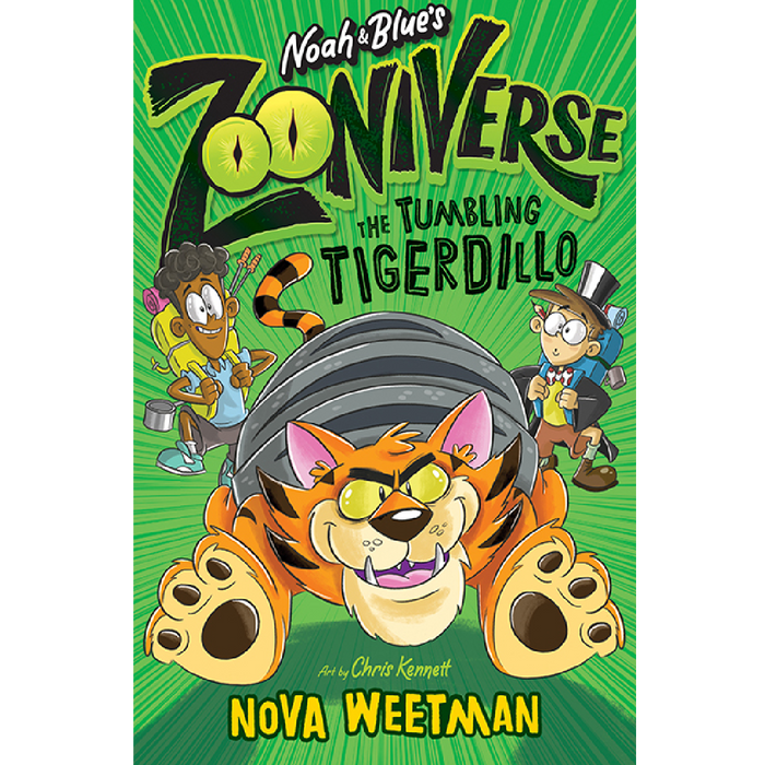 Noah and Blue's Zooniverse: Tumbling Tigerdillo
