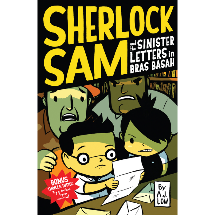 Sherlock Sam 3: Sherlock Sam and the Sinister Letters in Bras Basah