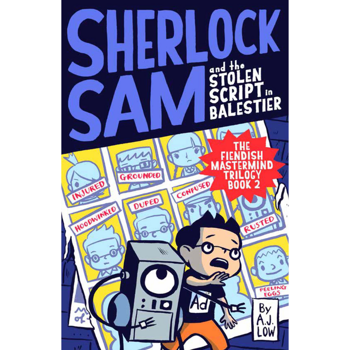 Sherlock Sam 7: Sherlock Sam and the Stolen Script in Balestier