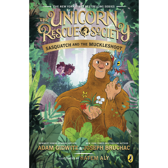 The Unicorn Rescue Society 3: Sasquatch and the Muckleshoot