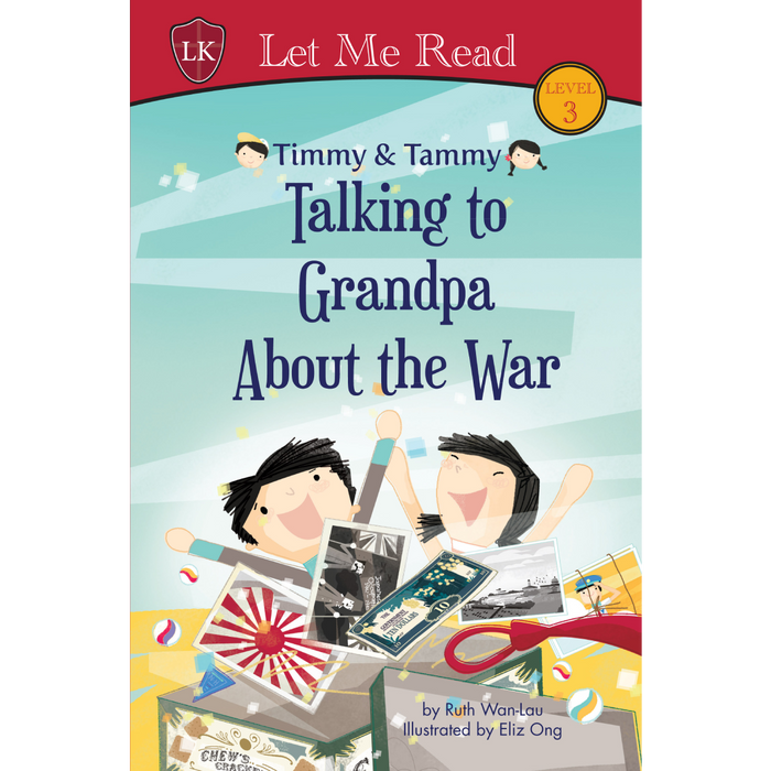 Timmy & Tammy Series: Talking to Grandpa about the War