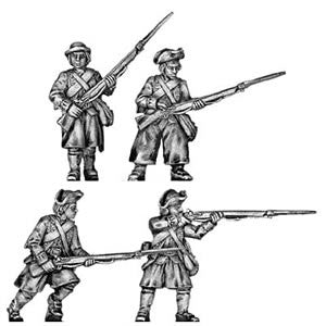 (100AOR001a) 1775 Marblehead Infantry reinforcement pack