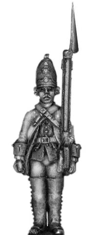 (100AOR110a) 1756-63 Saxon Grenadier, at attention