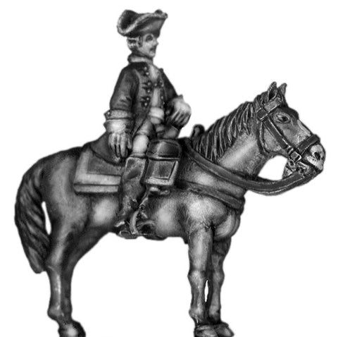 (100AOR120) 1756-63 Saxon mounted officer