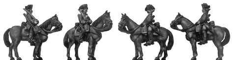 (100AOR145) 1756-63 Saxon Dragoon/Chevauleger trooper, walking