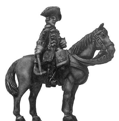(100AOR147) 1756-63 Saxon Dragoon/Chevauleger officer