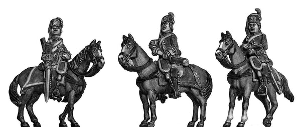 (100AOR044) Arquebusiers de Grassin Cavalry Set with command