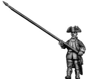 (100AOR054) Standard Bearer, coat with cuffs & lapels, marching