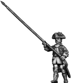 (100AOR059) Standard Bearer, coat with cuffs only, march attack