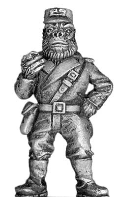 (100BSA09) Boiler Suited Ape Big Banana (officer)