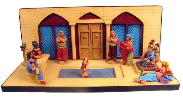 (100CIV26) 28mm Eastern Harem Set
