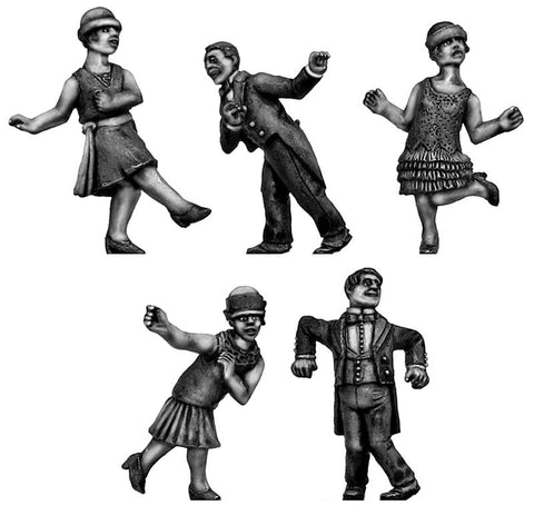 (100CIV34a) Jazz Band Dancers