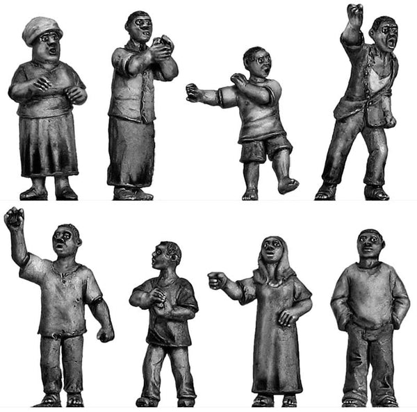 (100CIV41) African Mob Set