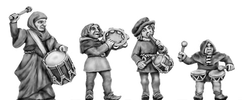 (100CIV62) NEW Medieval Band Percussion
