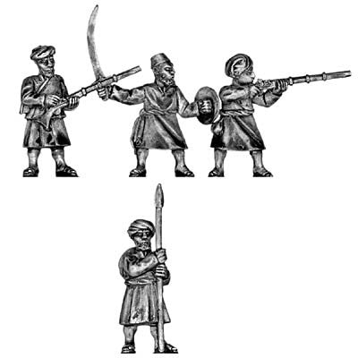 (100COL26) Zanzibar Arab Slavers poorly armed