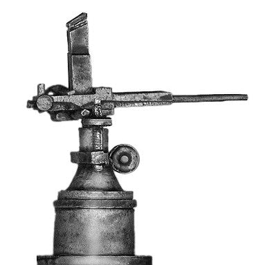 (100COL32) Nordenfelt 5 barrel .45cal machinegun