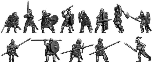 (100DAK04) Beowulf Set 2 Action poses
