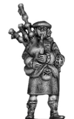 (100ECW18) 17th c. Scottish piper