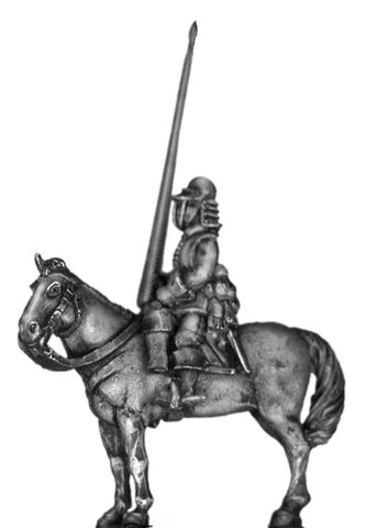 (100ECW23) Gordon Horse mounted Standard Bearer