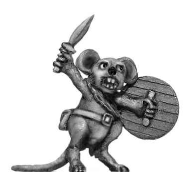(100MIC04) Warrior Mouse Chief Squeaker
