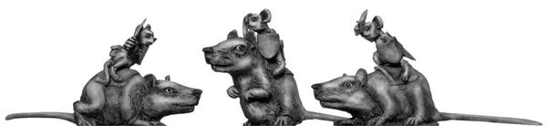 (100MIC08) Warrior Mouse Cavalry
