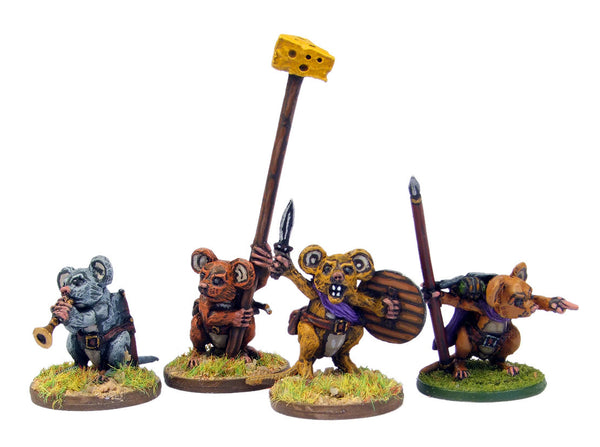 (100MIC09) Warrior Mouse Command Set